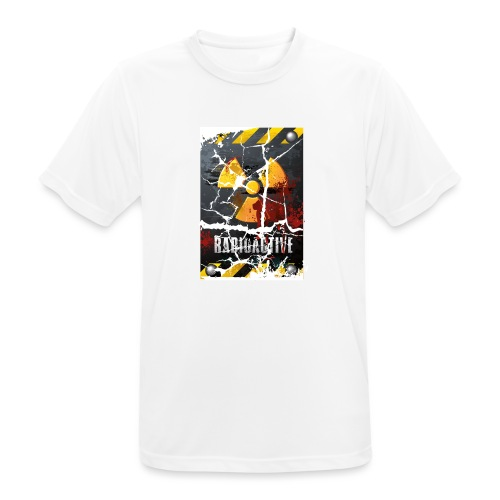 radiactive - Maglietta da uomo traspirante