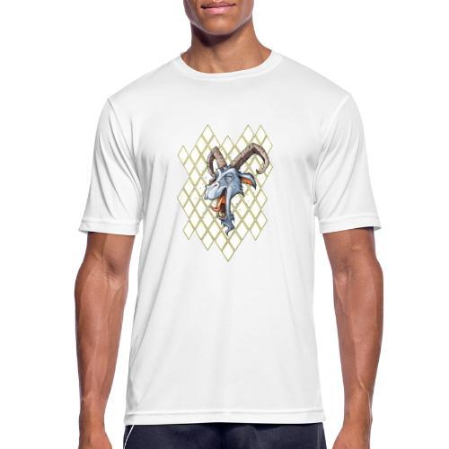 blauer bock - Männer T-Shirt atmungsaktiv