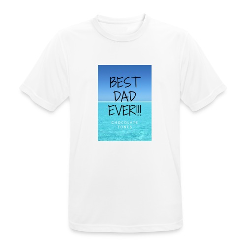 El Mejor papá - Camiseta hombre transpirable