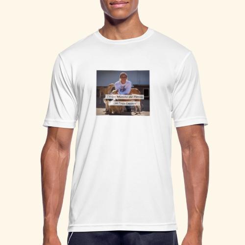en un mundo de perros con borja capponi - Camiseta hombre transpirable