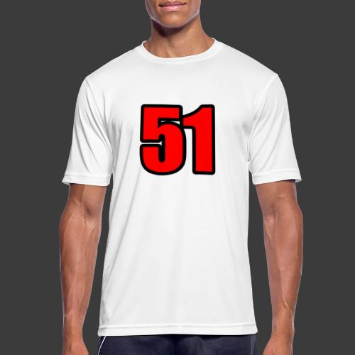 51 - Herre T-shirt svedtransporterende