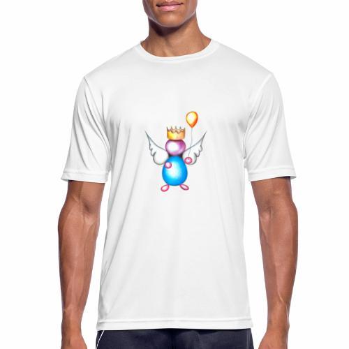 Mettalic Angel geluk - Mannen T-shirt ademend