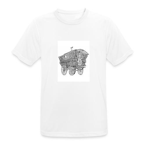 Woonwagen - Mannen T-shirt ademend actief