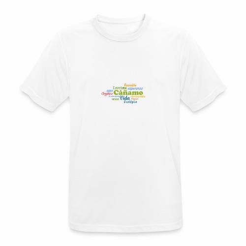 Cáñamo Sustentable - Camiseta hombre transpirable
