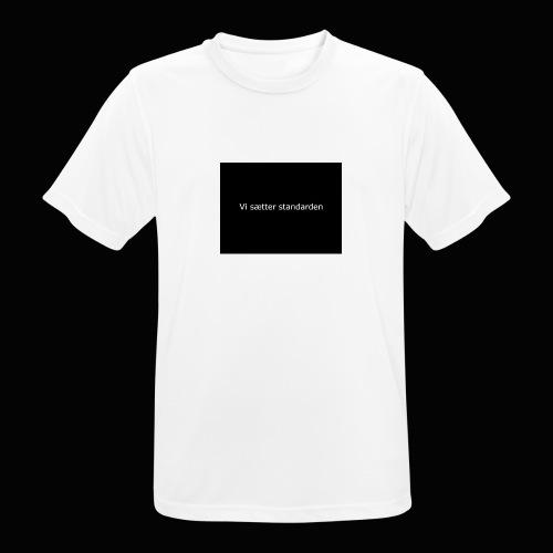 Vi Sætter Standarden - Herre T-shirt svedtransporterende