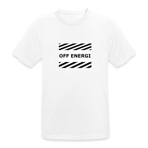 OFF ENERGI officiel merch - Andningsaktiv T-shirt herr