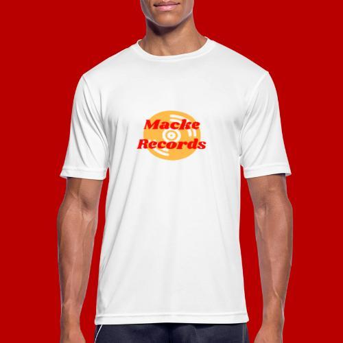 mackerecords merch - Andningsaktiv T-shirt herr