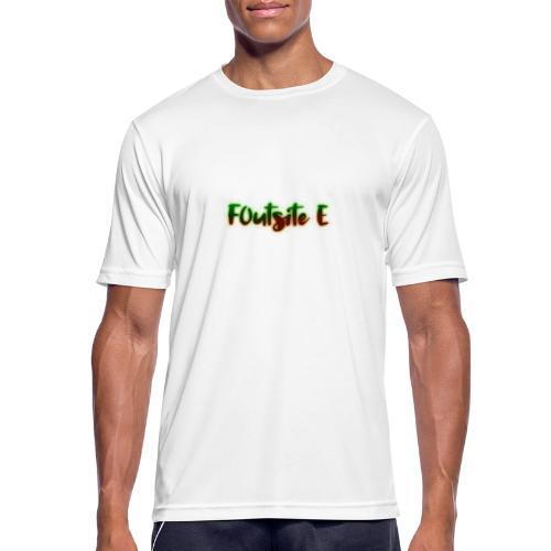 F0utsite E (HALLOWEEN Edition) - Andningsaktiv T-shirt herr