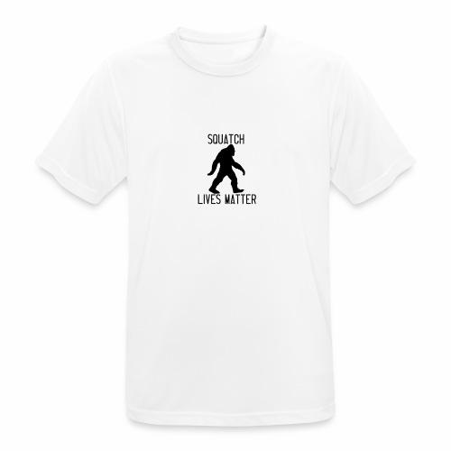 Squatch Lives Matter - Men's Breathable T-Shirt