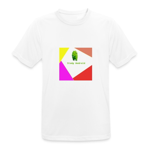 Study Android - Camiseta hombre transpirable