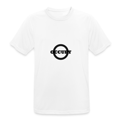 OCCUPY-jpg - Maglietta da uomo traspirante
