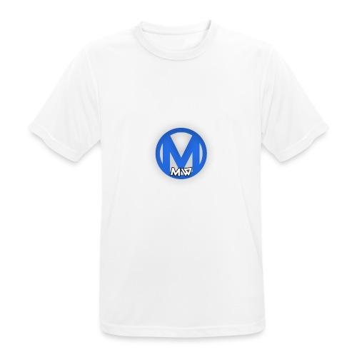 MWVIDEOS KLEDING - Mannen T-shirt ademend actief