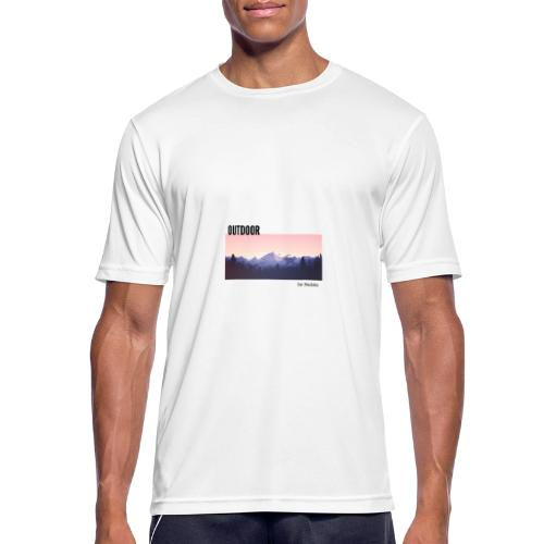 Outdoor - T-shirt respirant Homme