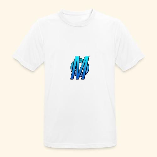 MirBlue - miesten tekninen t-paita