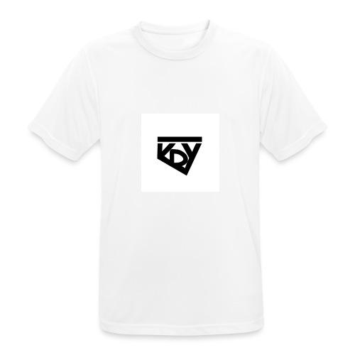 krYLogo - Männer T-Shirt atmungsaktiv