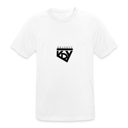 KrasnyyLogo - Männer T-Shirt atmungsaktiv