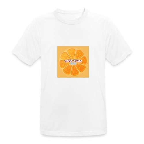 orangetextur - Männer T-Shirt atmungsaktiv