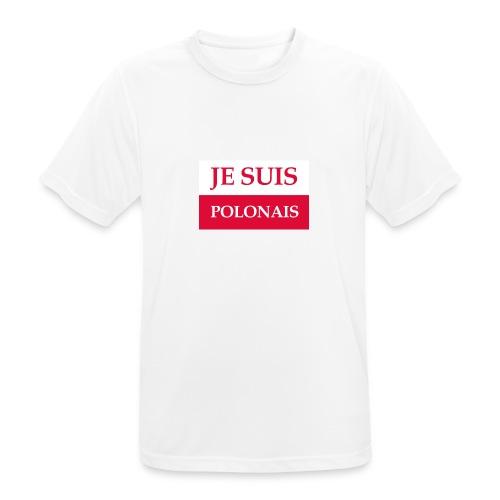 Je suis Polonais - Koszulka męska oddychająca