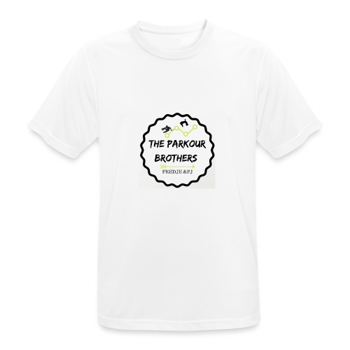 the_brothers_parkour - Mannen T-shirt ademend actief