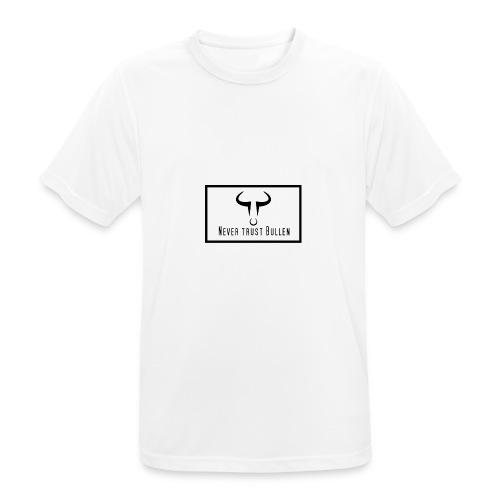 NTB NEVER TRUST BULLEN - Männer T-Shirt atmungsaktiv