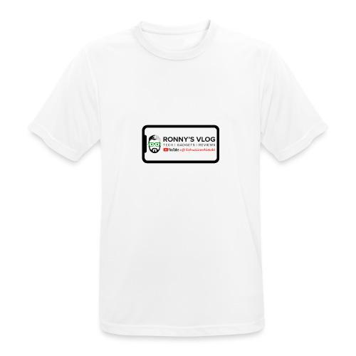 iPhone X by Ronny's Vlog - Männer T-Shirt atmungsaktiv