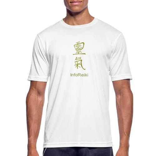 kanji oro - Maglietta da uomo traspirante