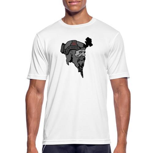 Kun logo - Herre T-shirt svedtransporterende