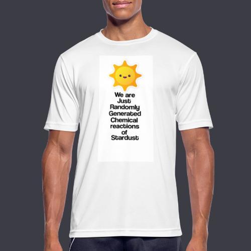 t shirt zon - Mannen T-shirt ademend actief