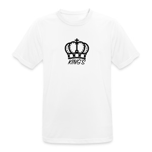 KINGS CROWN BIG LOGO - Men's Breathable T-Shirt
