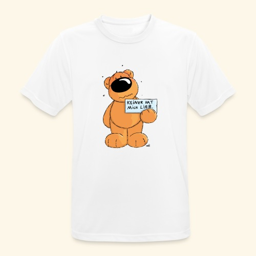 chris bears Keiner hat mich lieb - Männer T-Shirt atmungsaktiv