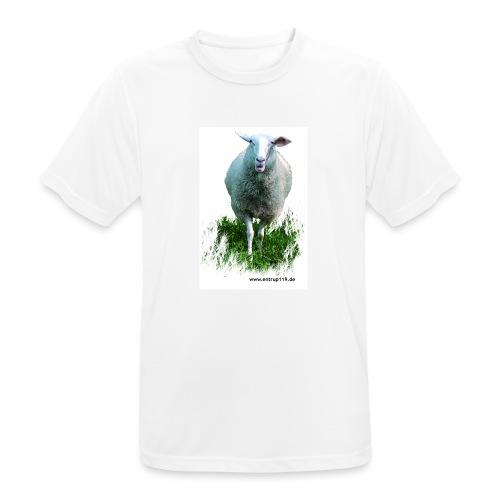 Gemaltes Entrup Schaf - Männer T-Shirt atmungsaktiv