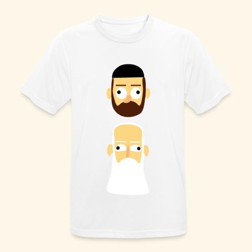 Stille Willem en Leipe Leo - mannen T-shirt ademend