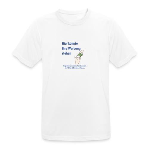 Werbung - Männer T-Shirt atmungsaktiv