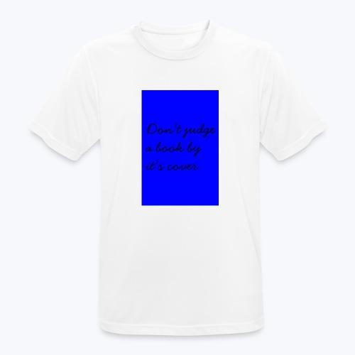BLUE DJABBIC - Andningsaktiv T-shirt herr