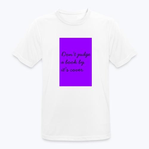 PURPLE DJABBIC - Andningsaktiv T-shirt herr