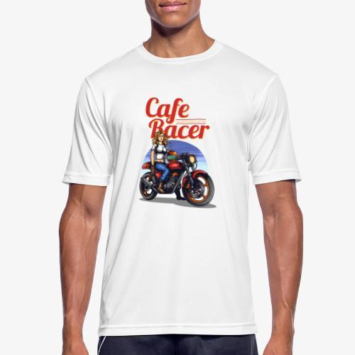 Cafe Racer - Männer T-Shirt atmungsaktiv