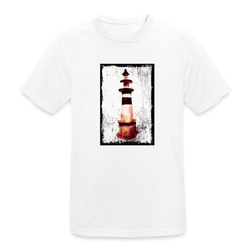 Leuchtturm - Männer T-Shirt atmungsaktiv