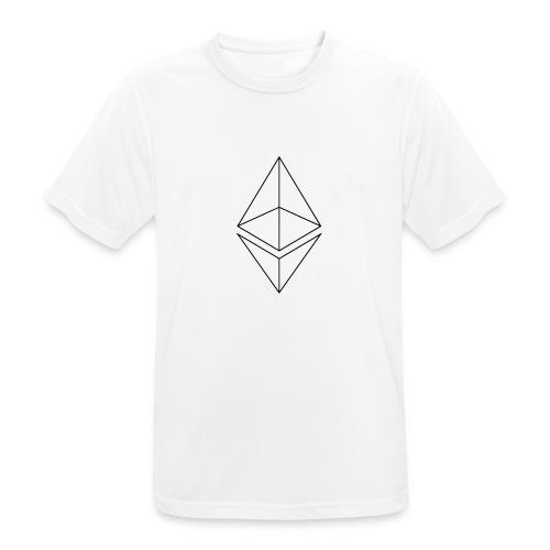 Ethereum - miesten tekninen t-paita