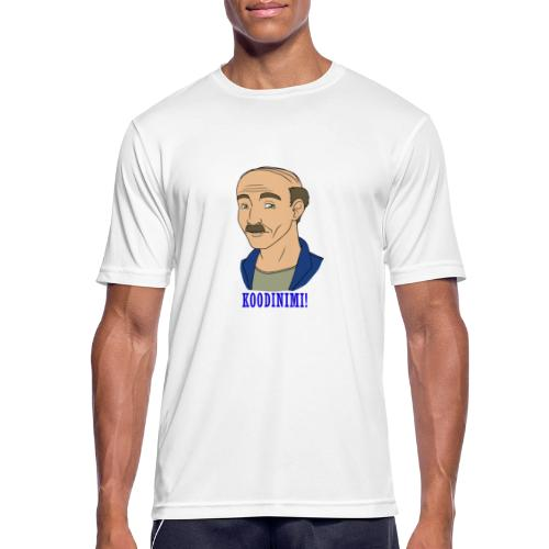 KOODINIMI - miesten tekninen t-paita