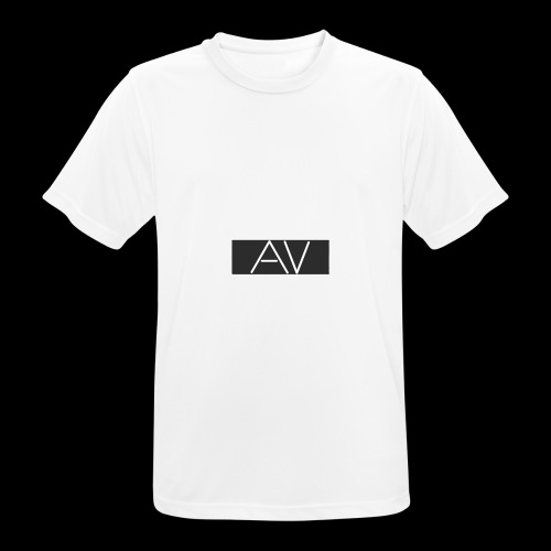AV White - Men's Breathable T-Shirt