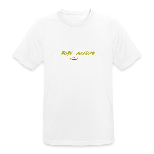 born awesome - Men's Breathable T-Shirt