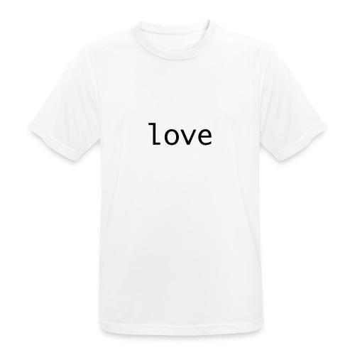 love - Andningsaktiv T-shirt herr