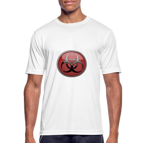 DANGER BIOHAZARD - Männer T-Shirt atmungsaktiv