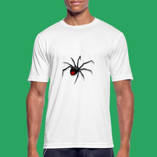 spider logo fantasy - Maglietta da uomo traspirante