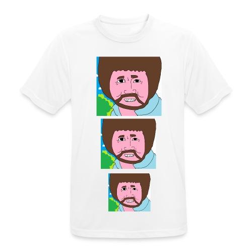 Bob Ross - Men's Breathable T-Shirt