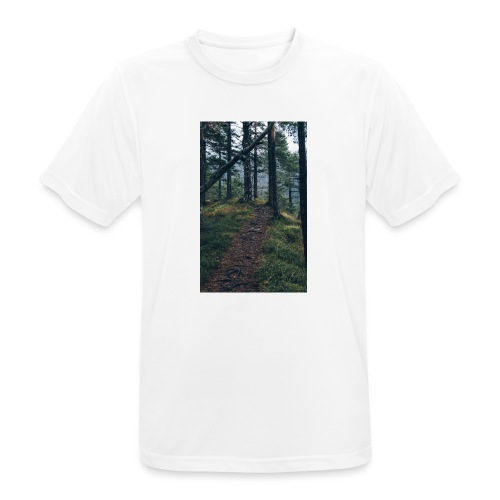 So still wie die Nacht - Männer T-Shirt atmungsaktiv