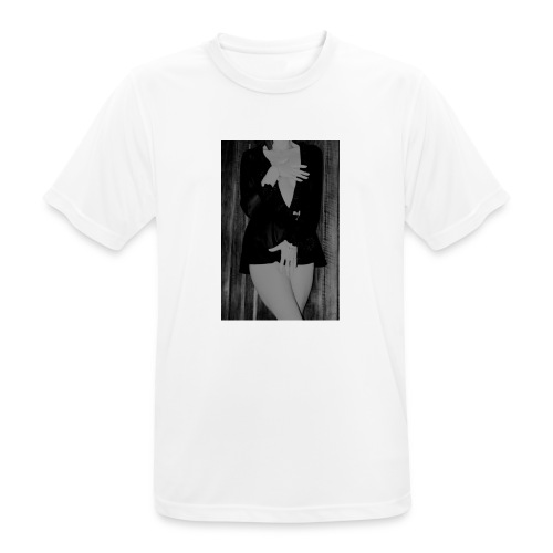 img 0603grise - T-shirt respirant Homme