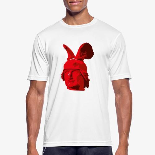 Kopf des Hermannsdenkmals - Männer T-Shirt atmungsaktiv