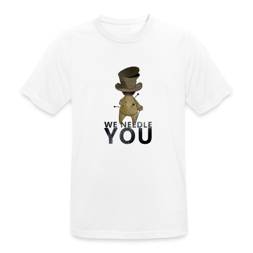 WE NEEDLE YOU - T-shirt respirant Homme