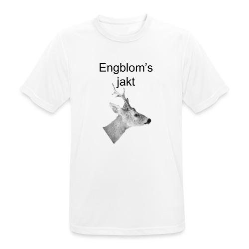 Officiell logo by Engbloms jakt - Andningsaktiv T-shirt herr